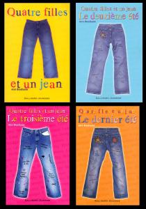 [Livre] Quatre filles et un jean - Saga