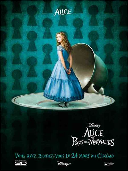 alice aux pays des merveilles tim burton le fauteuil le blog de la pop culture et de la. Black Bedroom Furniture Sets. Home Design Ideas