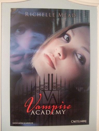 [Evènement] Salon du livre et de la presse jeunesse 2010 - Poster Vampire Academy