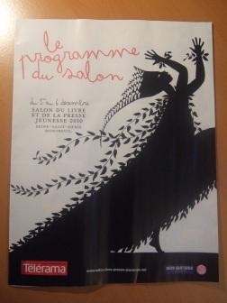 [Evènement] Salon du livre et de la presse jeunesse 2010 - Programme du salon