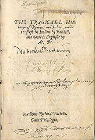 [Autre] Roméo et Juliette - Manuscrit 1