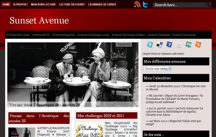 [Autre] Sunset Avenue - Site