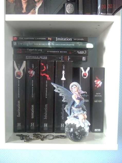 Les livres Twilight