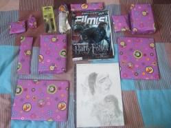 Les très nombreux cadeaux! (oui oui, j'ai été gâtée!!)