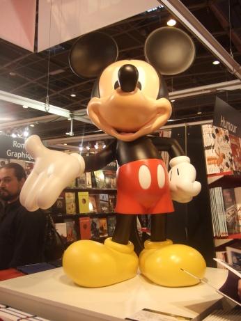 [Evènement] Salon du livre 2011 - Mickey