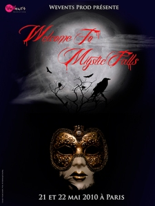[Evènement] Welcome to mystic falls 1 - Affiche