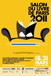 [Evènement] Salon du livre 2011 - Flyer
