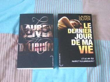 Les livres de Lauren Oliver.