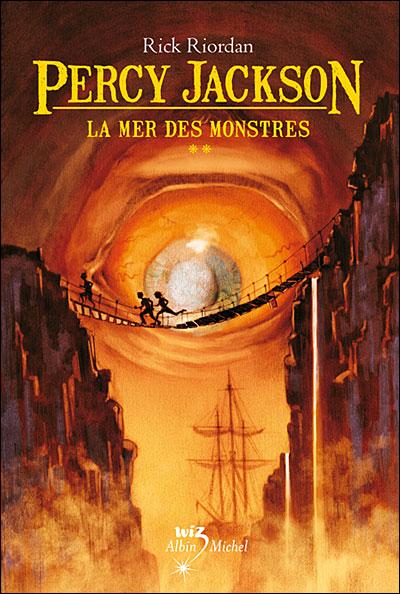 Percy jackson tome 2 la mer des monstres – rick riordan