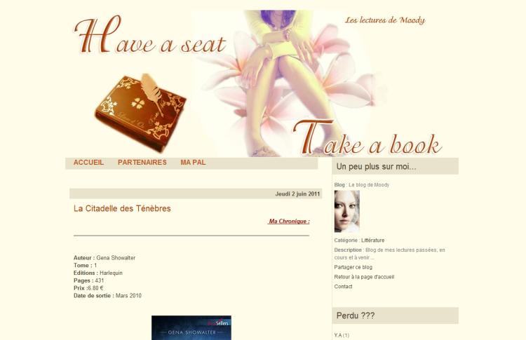 [Partenaire] Take a book - Site
