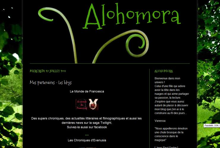 [Partenaire] Alohomora - Site