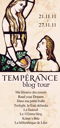 [Autre] Tempérance - Blog tour