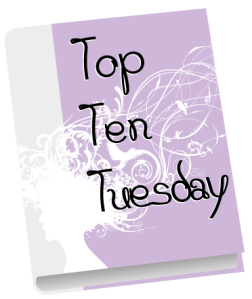 [Blog] Top ten tuesday