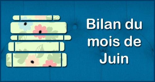 [Blog] Bilan du mois - Juin