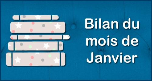 [Blog] Bilan du mois - Janvier
