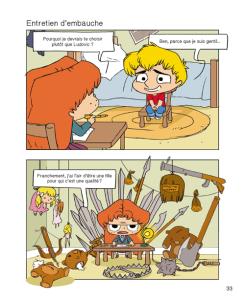 """Extrait de la bande dessinée """"Mortelle Adèle, tome 10"""""""