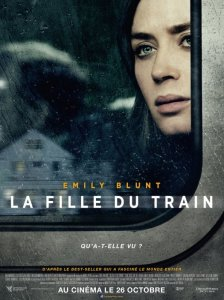 "Affiche du film ""La fille du train"""