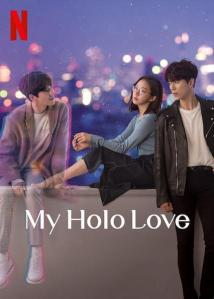 """Affiche de la série """"My holo love"""""""