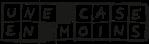 """Logo de la maison d'édition """"Une case en moins"""""""