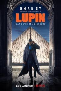 """Affiche de la saison 1 de la série """"Lupin"""""""