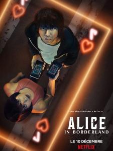 """Affiche de la saison 1 de la série """"Alice in Borderland"""""""