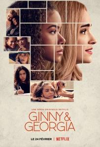 """Affiche de la saison 1 de la série """"Ginny & Georgia"""""""