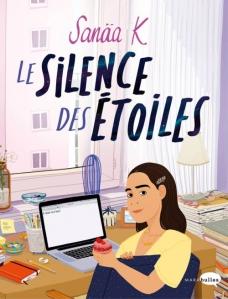 """Couverture du roman """"Le silence des étoiles"""""""