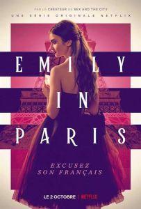 """Affiche de la saison 1 de la série """"Emily in Paris"""""""