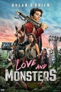 "Affiche du film ""Love and monsters"""