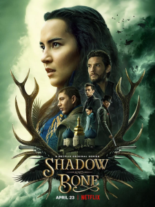 "Affiche de la saison 1 de la série ""Shadow and bone"""
