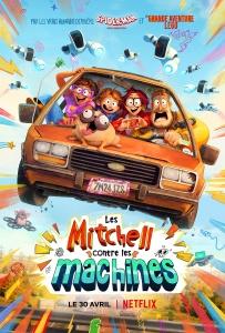 """Affiche du film """"Les Mitchell contre les machines"""""""