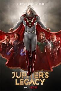 """Affiche de la saison 1 de la série """"Jupiter's Legacy"""""""