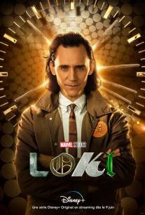 """Affiche de la saison 1 de la série """"Loki"""""""