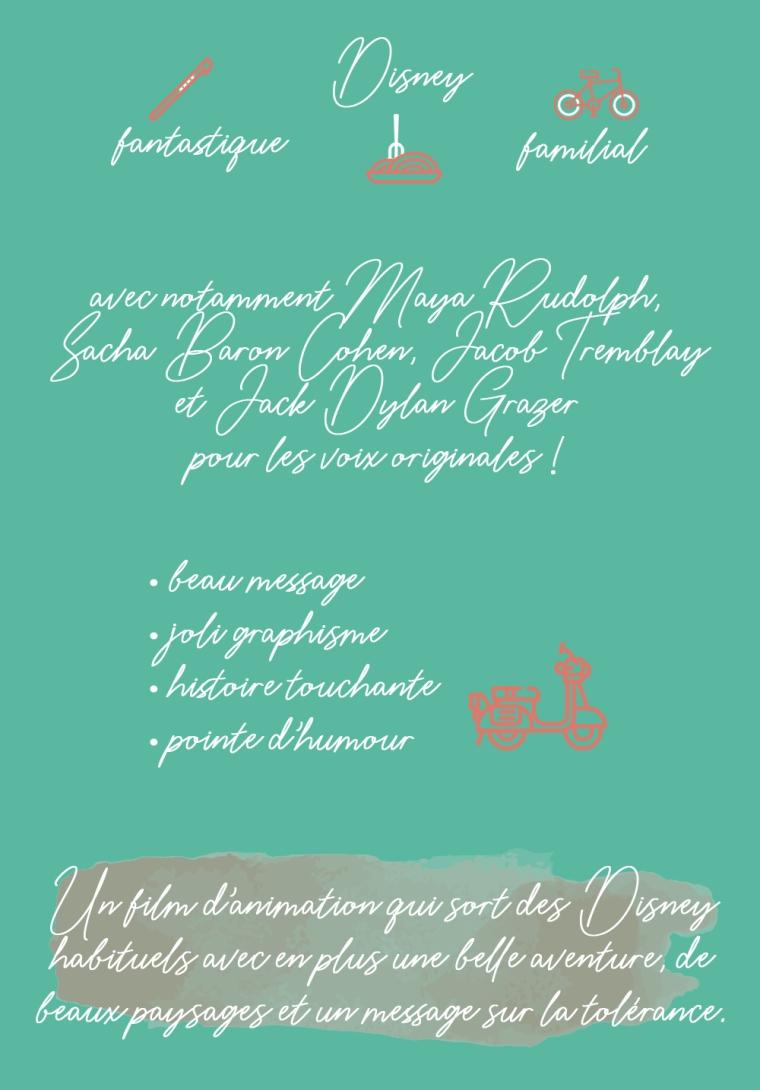 """Chronique du film """"Luca"""" : Disney, fantastique, familial. Avec notamment Maya Rudolph, Sacha Baron Cohen, Jacob Tremblay et Jack Dylan Grazer pour les voix originales ! Les plus : beau message, joli graphisme, histoire touchante, pointe d'humour. Conclusion : un film d'animation qui sort des Disney habituels avec en plus une belle aventure, de beaux paysages et un message sur la tolérance."""